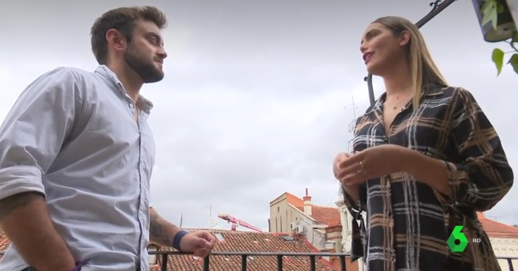 Ethan Alcaraz y Ángela Ponce