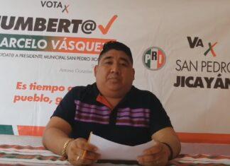 Humberta Marcelo Vásquez candidata en Jicayán