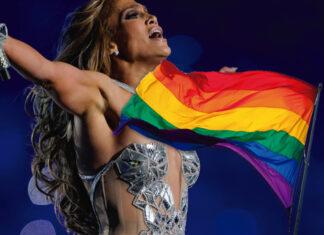 Jennifer-Lopez-LGBT-Flag