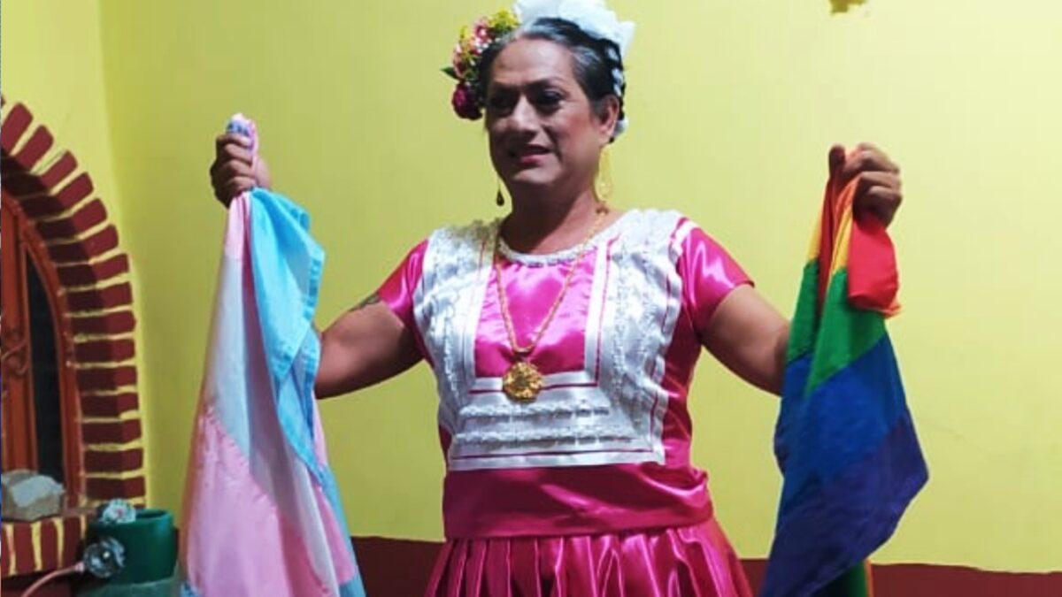 Joseline Sosa candiata muxe