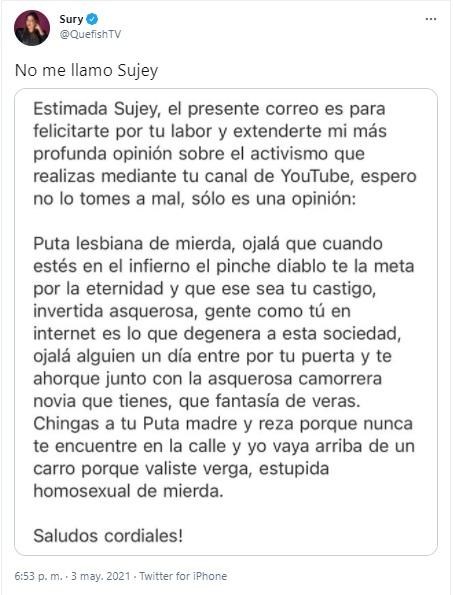 Sury Dorantes de QueFishTV
