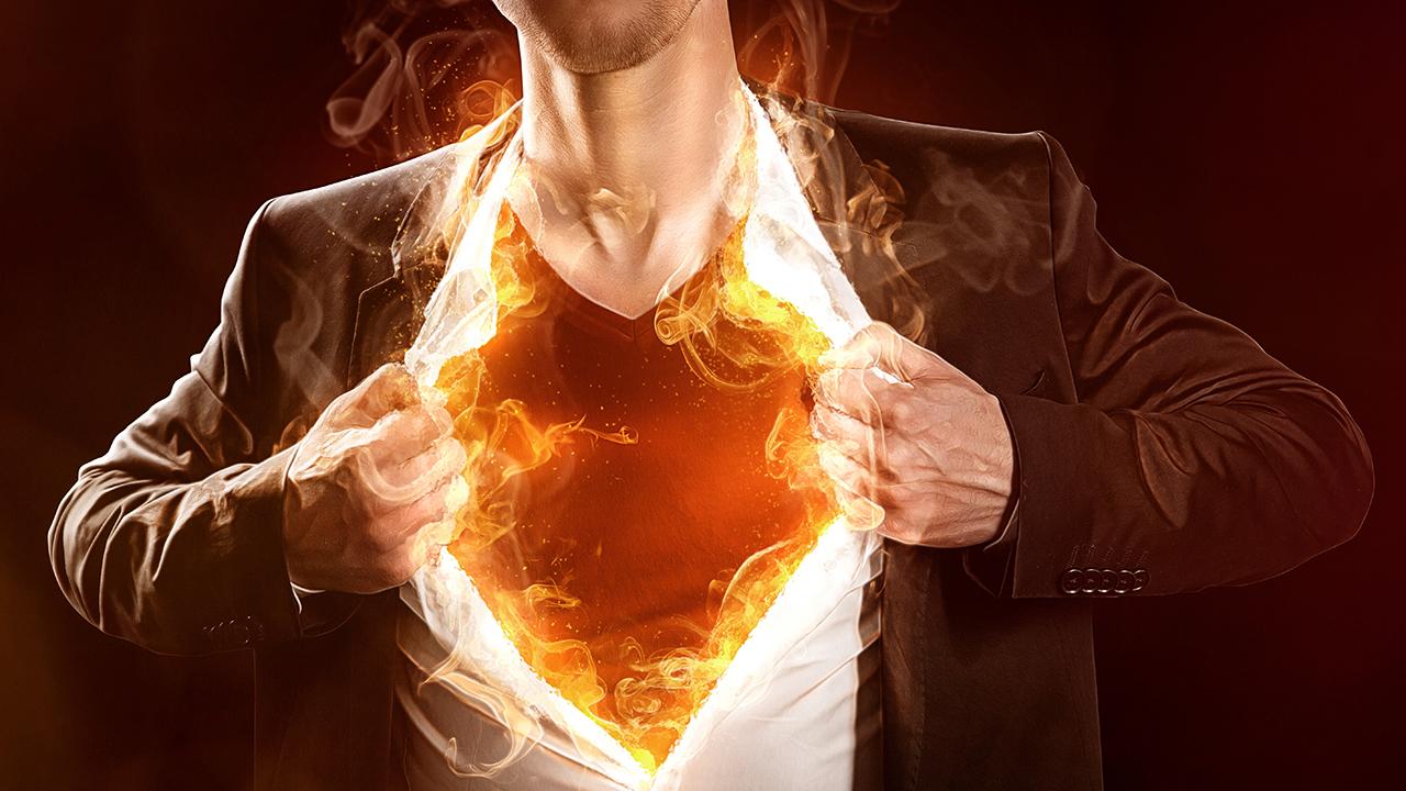 ciencia caliente excitación fuego