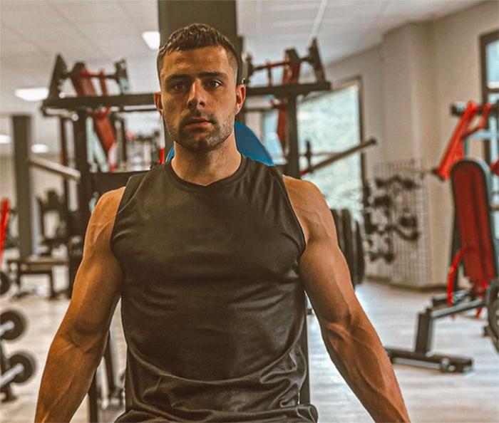 hombre ejercicio dieta baja peso