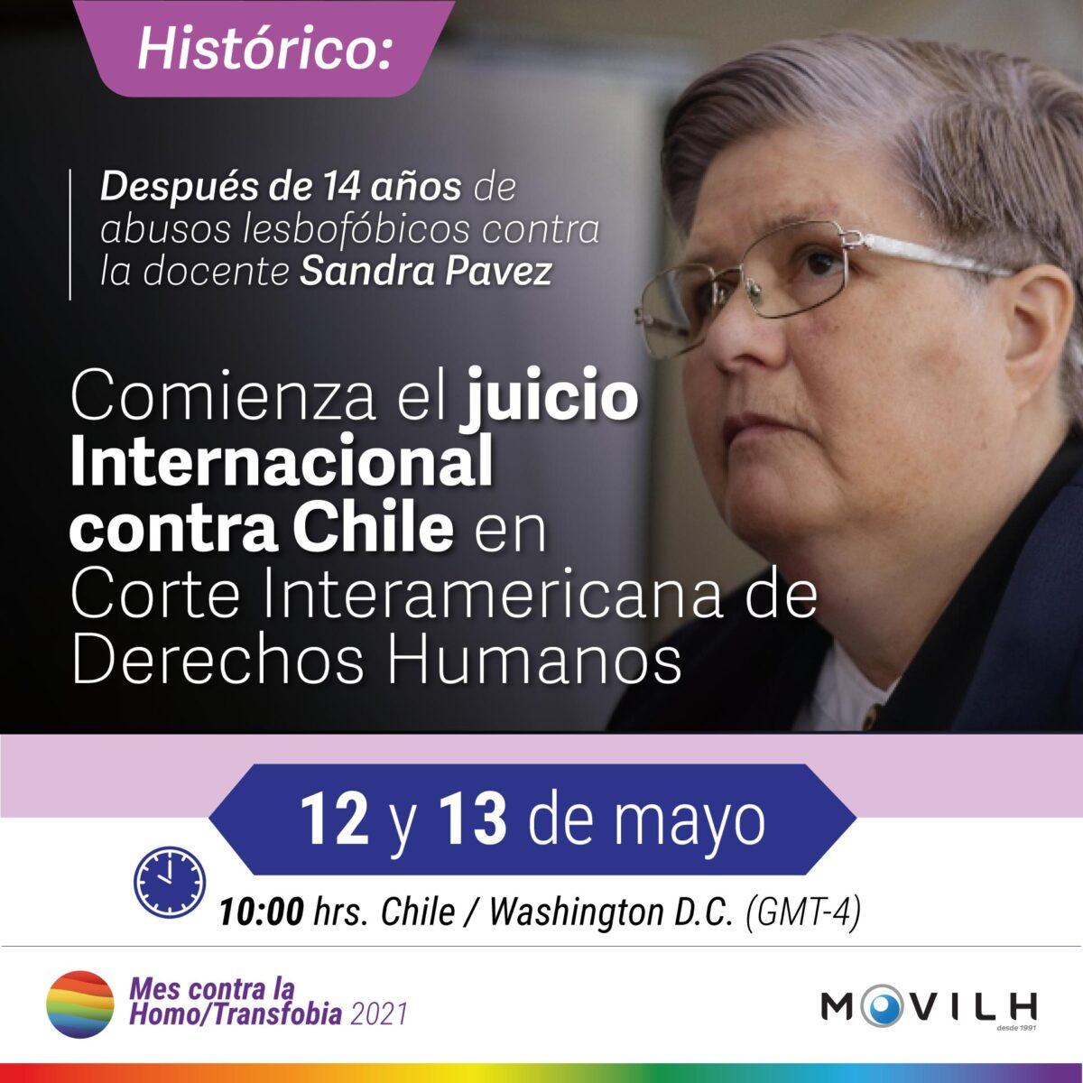 Juicio de maestra lesbiana Sandra Pavez