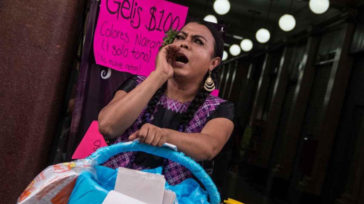 Candidatas muxes Lady Tacos de Canasta