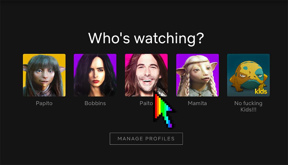 Netflix foto de perfil