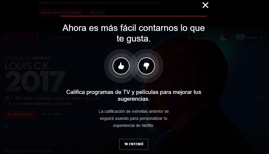 Netflix calificar contenido
