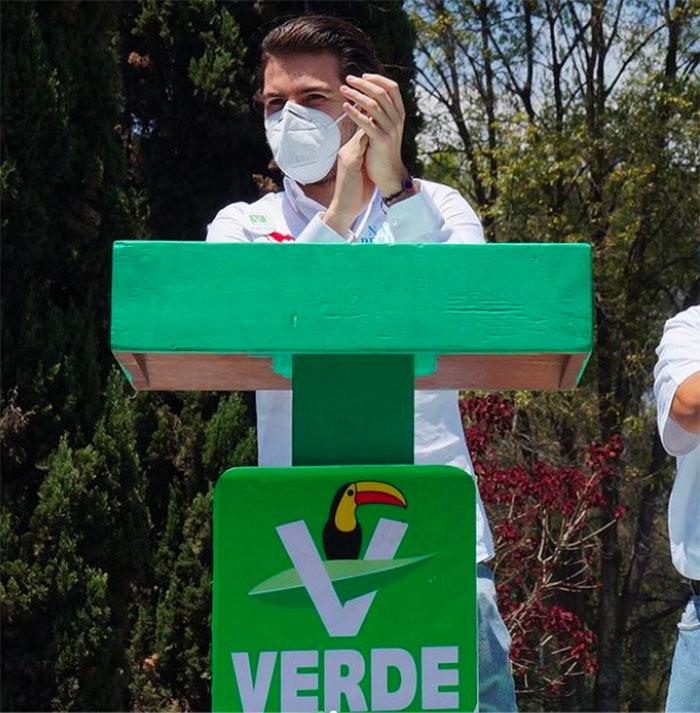 nacho peregrin candidato partido verde