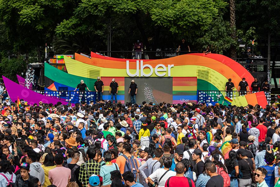 uber marcha cdmx 2019 pride orgullo