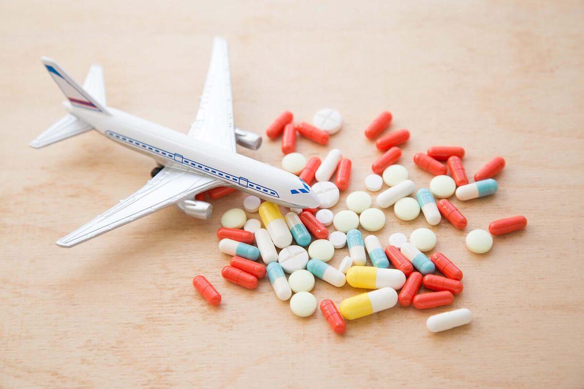 viajes y antirretrovirales consejos