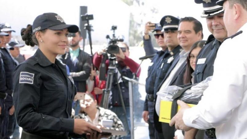 Policías LGBT+ mexicanos