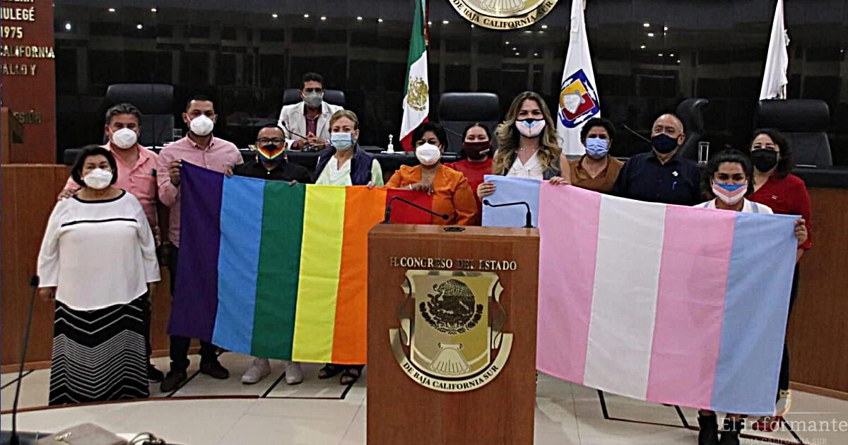 BCS aprueba ley para el reconocimiento de las identidades trans