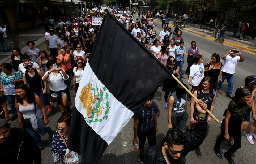 Bandera negra de México