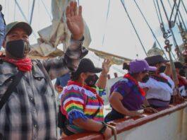 Delegación del EZLN que viajó a Europa tiene persona LGBT+