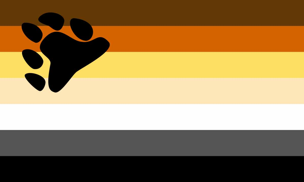 Bandera osos gay