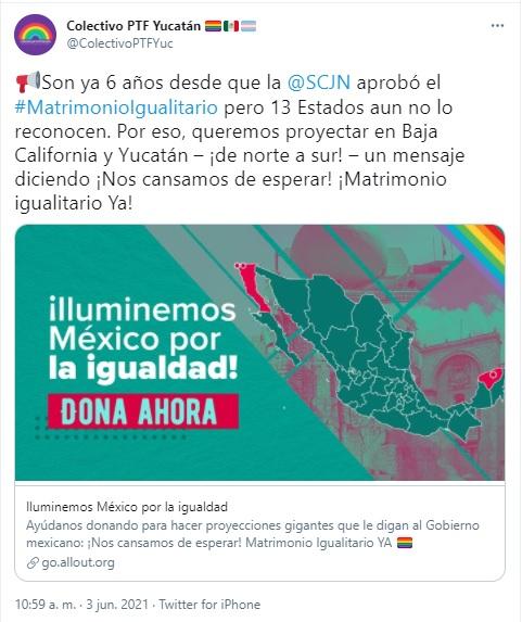 Iluminemos México por la Igualdad