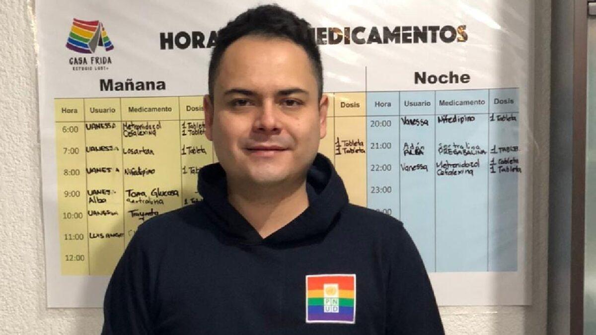 Raúl Caporal codirector de Casa Frida