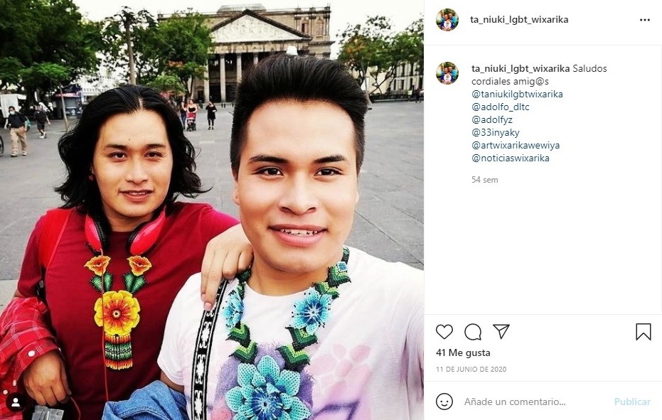 colectivo Ta Niuki visibiliza a la comunidad LGBT+ en los pueblos indígenas Wixárikas