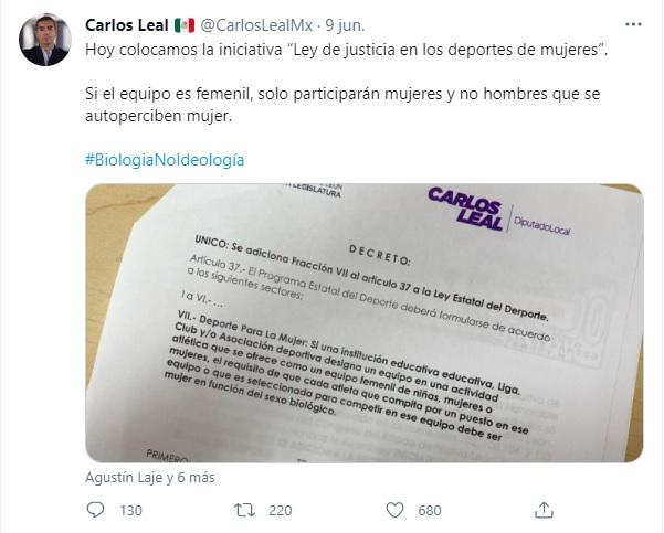 Iniciativa sobre participación de Mujeres trans en deporte femenil de Nuevo León