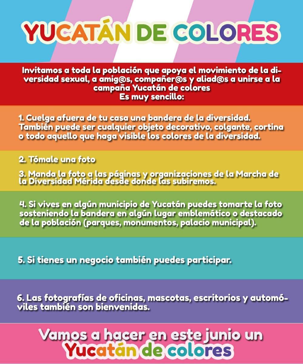 Yucatán Marcha LGBT+ 2021