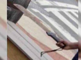 adolescente amenaza con machete a hombre durante la marcha del orgullo en Washington