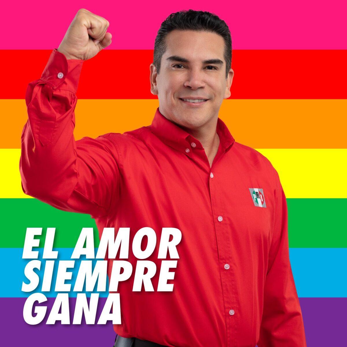 alejandro moreno PRI pinkwashing político