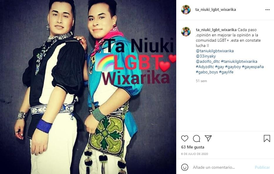 Indígenas wixárikas crean colectivo LGBT+ para salir del clóset