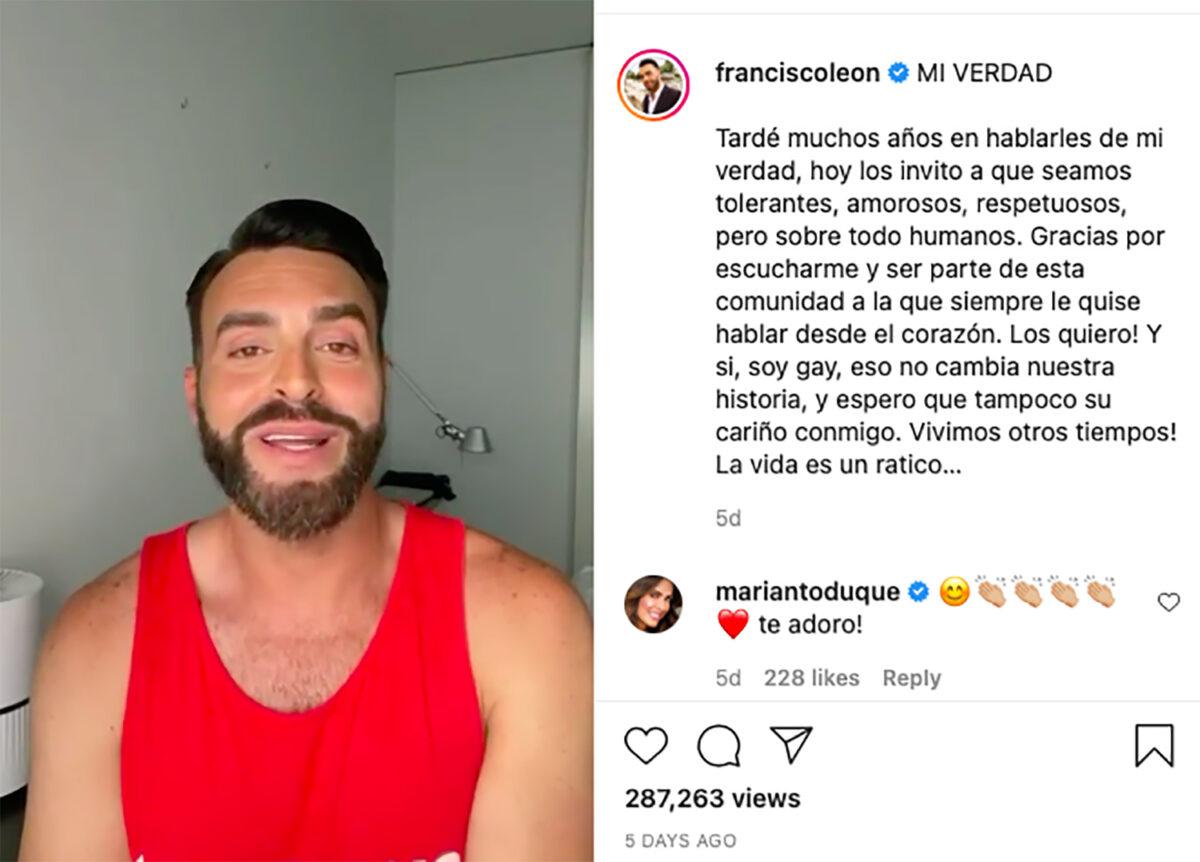 Francisco León gay