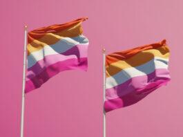 banderas lésbicas