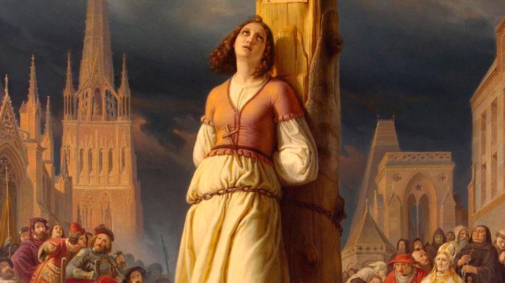 Juana de Arco muerte
