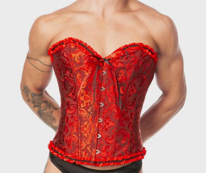 lenceria hombre corset