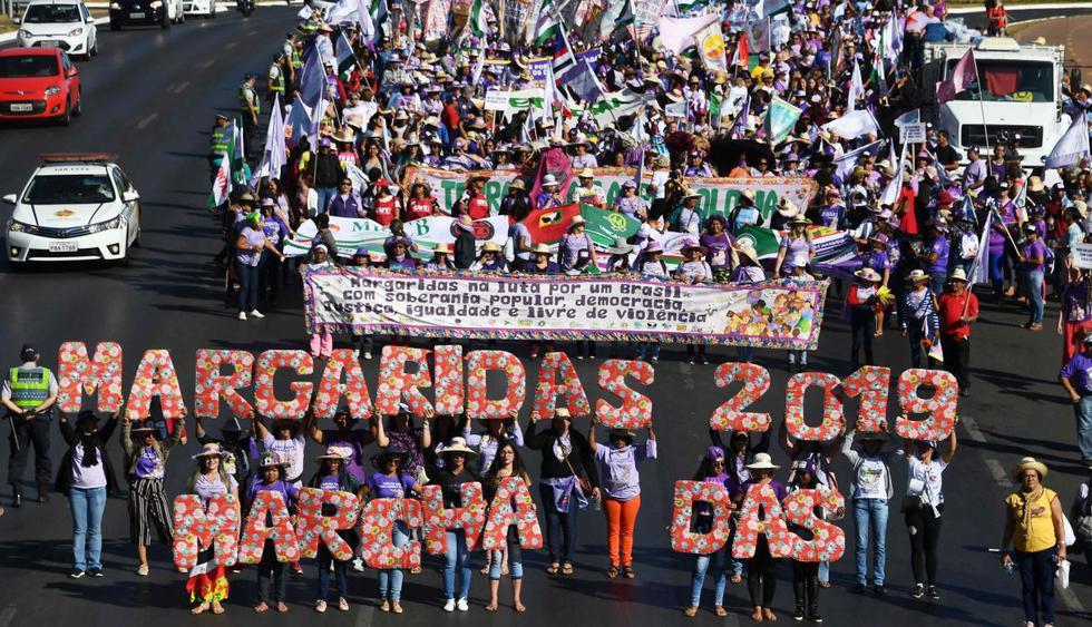 marcha das margaritas brasil 2019
