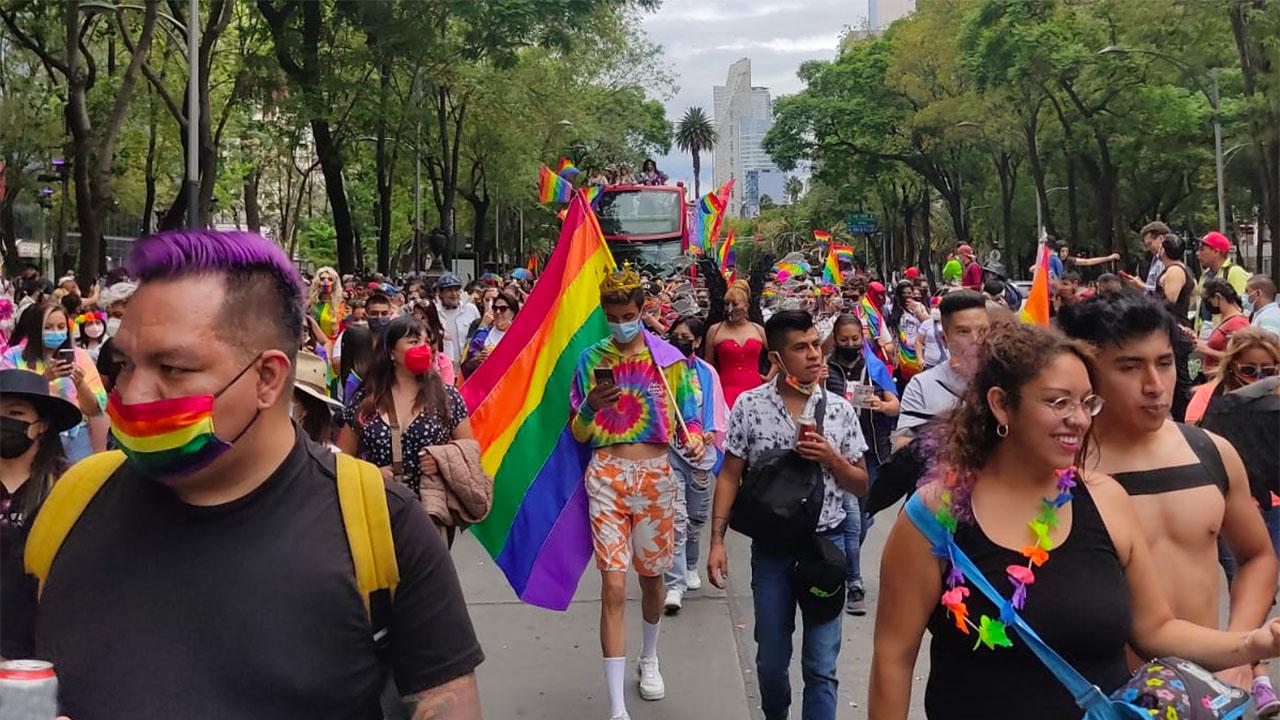 Marcha lgbt orgullo presencial cdmx 2021