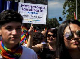 Piñera apoya matrimonio igualitario en CHile
