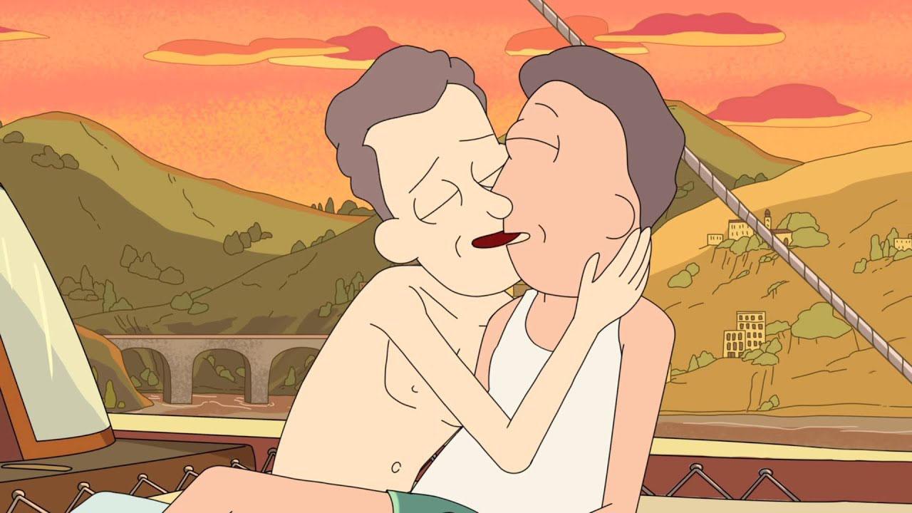 momentos lgbt comunidad rick morty serie animada