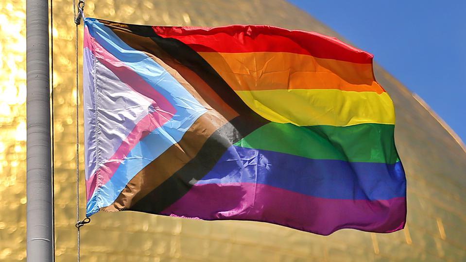 Bandera LGBT+ interseccional