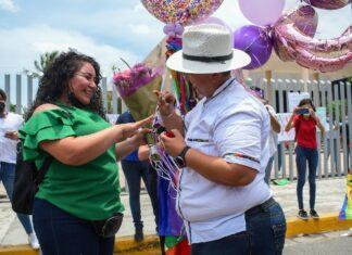 pareja lésbica de Sinaloa celebra aprobación de matrimonio igualitario