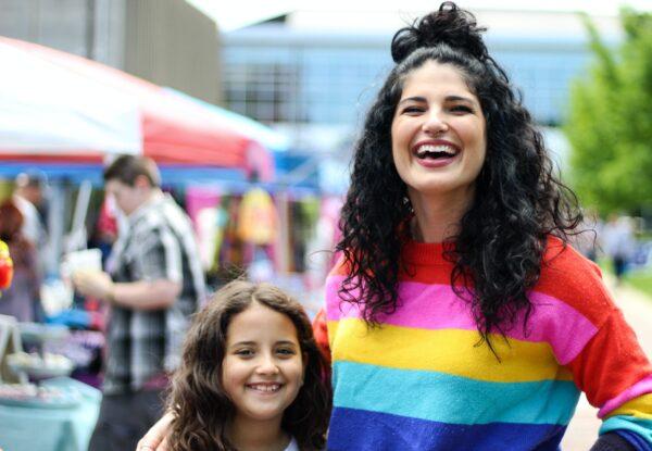 mamá lesbiana con hija