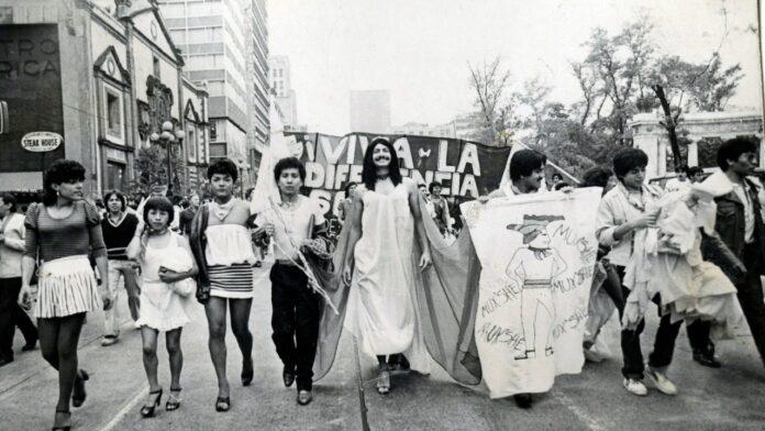 primera marcha del orgullo en méxico