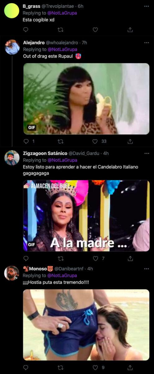 twitter drag race italia