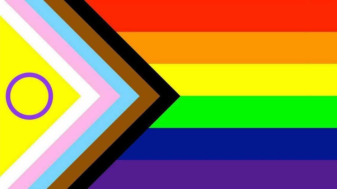 Bandera lgbt+ intersex