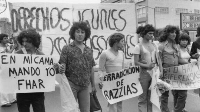 ser lgbt gay década de los 70 méxico