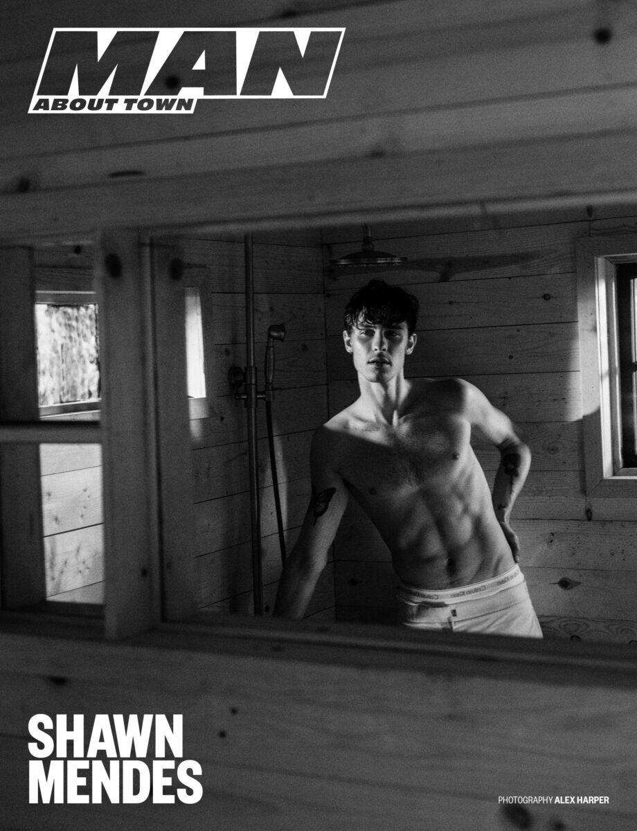 Shawn Mendes sin camisa