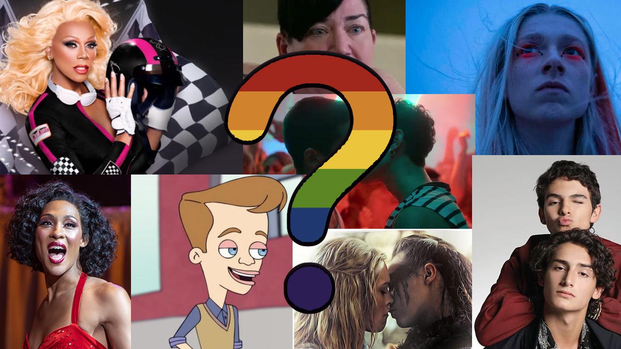test personajes LGBT+ series