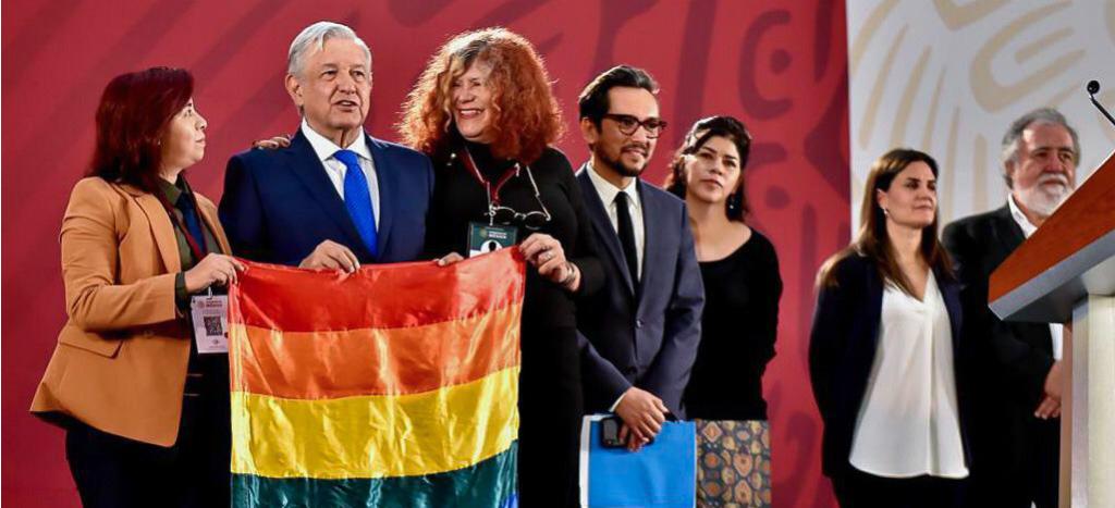 AMLO expresa su postura sobre la diversidad sexual