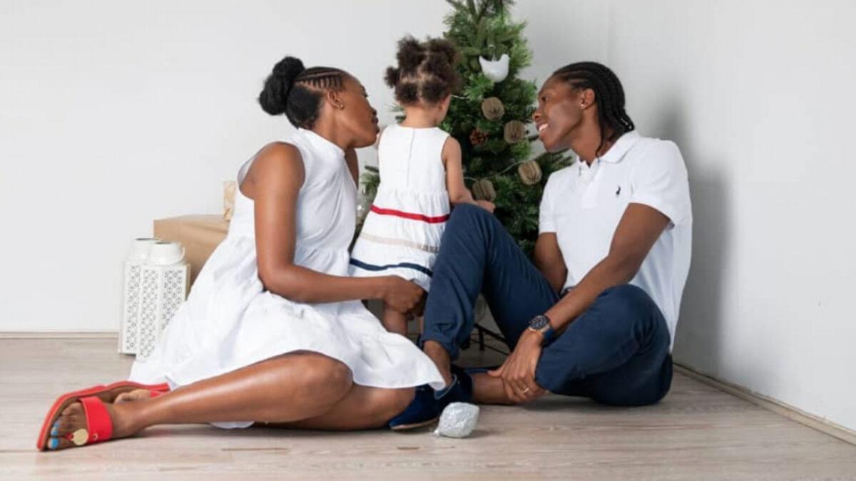 Caster Semenya lesbiana hija Violet Raseboya