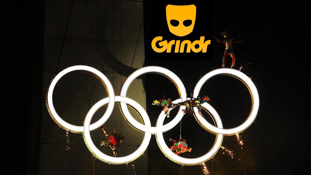 Perfiles en Gindr de atletas que participan en Juegos Olímpicos