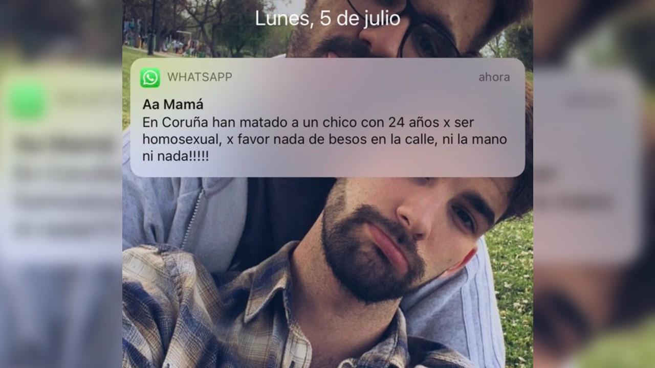 Familiares envían mensajes a jóvenes LGBT+ por asesinato de Samuel