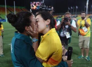 Isadora Cerullo y Majorie Enya protagonizaron la primera propuesta de matrimonio en unas olimpiadas