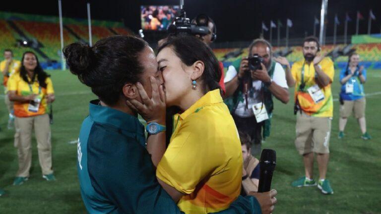 Isadora y Marjorie: primera propuesta de matrimonio en Olimpiadas